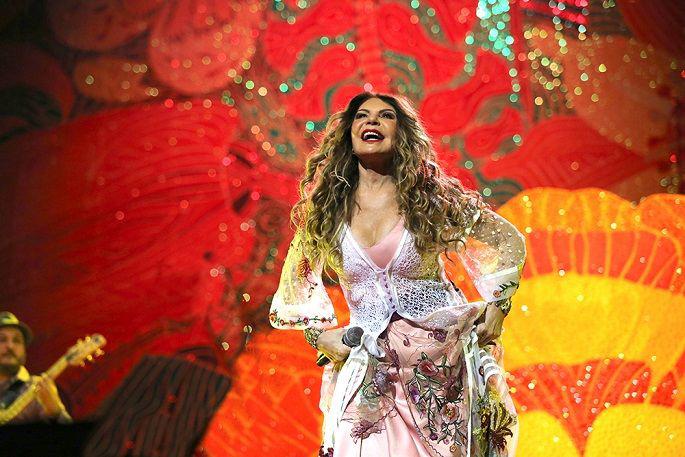 Caixa Cultural apresenta show de Elba Ramalho interpretando as músicas de Dominguinhos