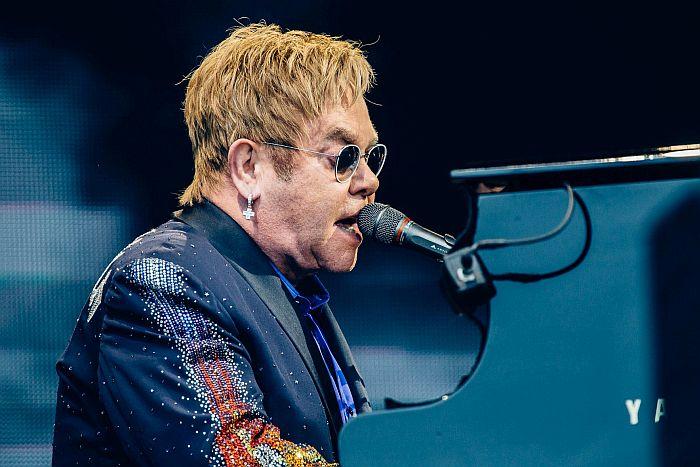 Elton John e James Taylor em Curitiba