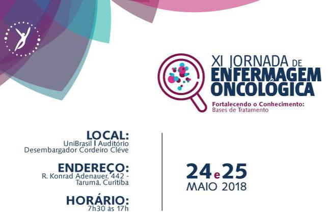 XI Jornada de Enfermagem Oncológica do Hospital Erasto Gaertner