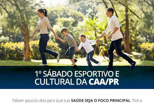 Espaço Kids e Espaço Saúde estão na programação do evento cultural e esportivo da CAA/PR