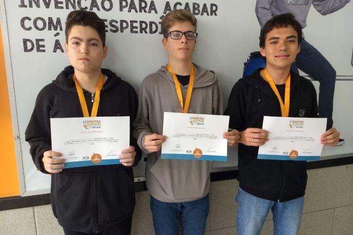 Estudantes vão representar o Paraná na Feira Brasileira de Ciências e Engenharia da USP