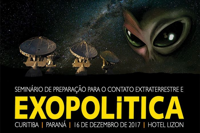 Curitiba recebe o I Seminário de Preparação para o Contato Extraterrestre e Exopolítica