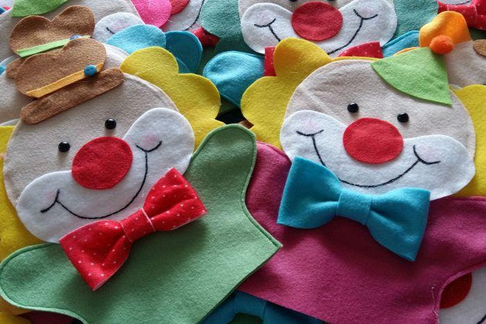 Criação de fantoches é a atividade da oficina de sábado do Novo Batel Kids