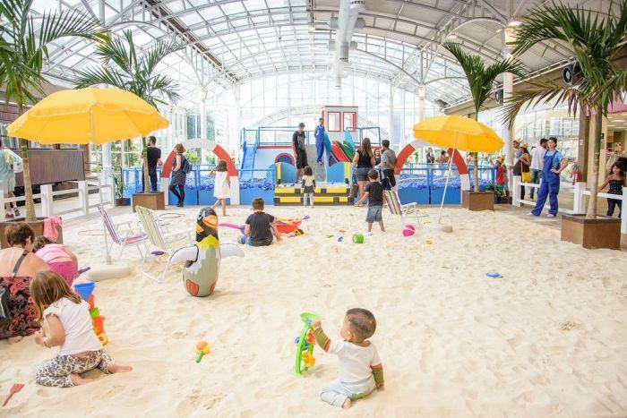Shoppings iniciam atrações de férias para as crianças