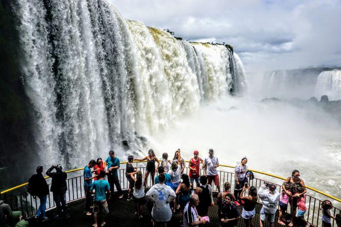 Cresce o número de turistas americanos em Foz do Iguaçu