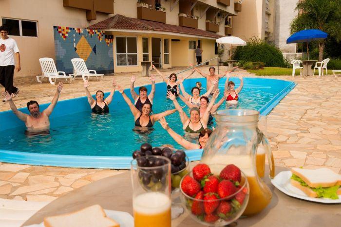 Crianças têm tarifa livre nas férias do Thermas Piratuba Park Hotel