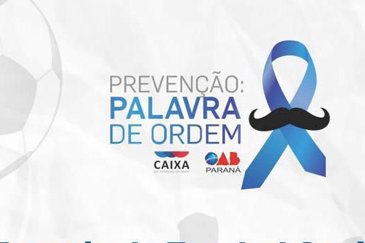Inscrições abertas para torneio de futebol Novembro Azul em Arapongas