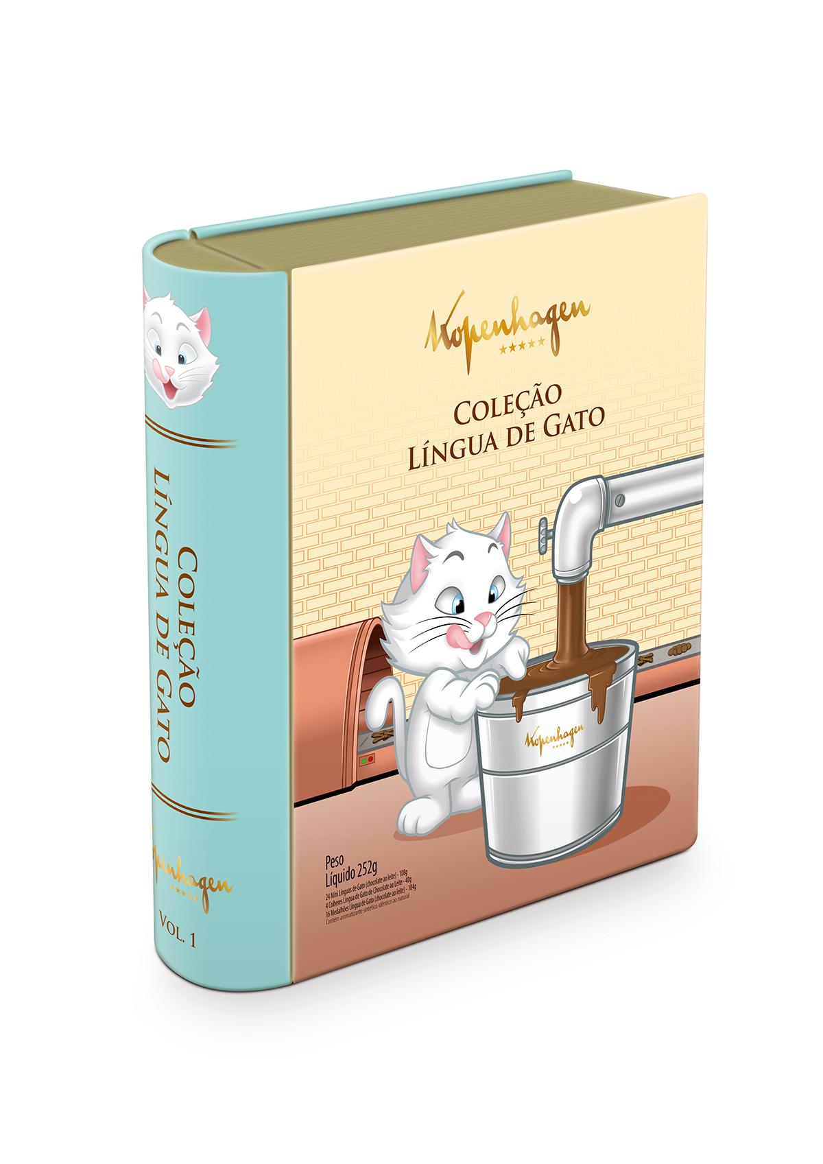 Kopenhagen apresenta novo mascote e outros dois lançamentos especiais da linha Língua de Gato