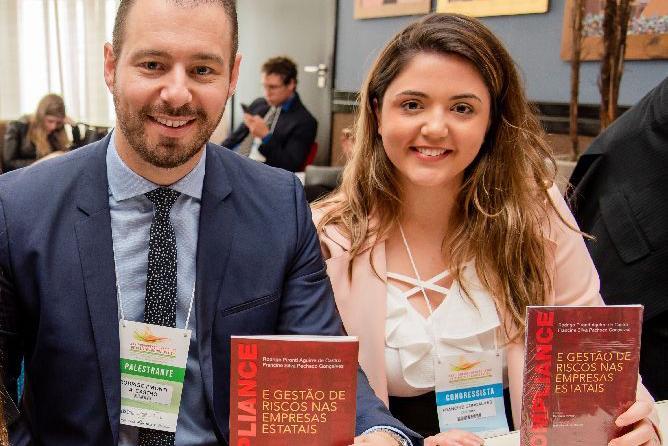 Rodrigo Pironti e Francine Gonçalves lançam livro sobre compliance e gestão de riscos nas estatais