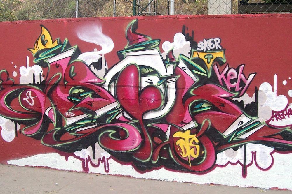 Encontro Internacional de Graffiti reúne artistas de 16 países em Curitiba
