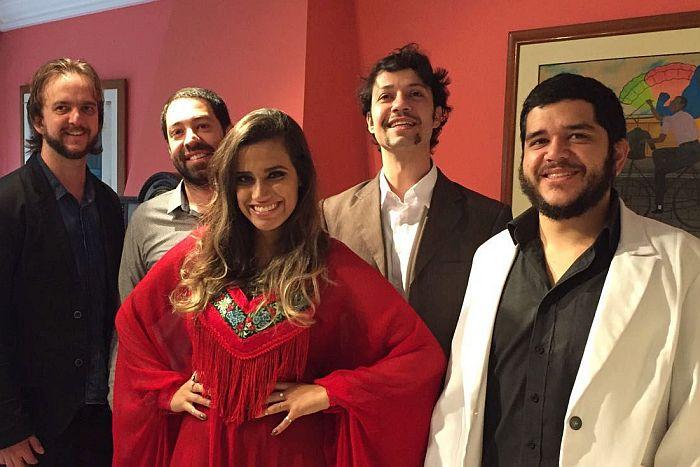 Grupo Caxangá faz show no Colégio Estadual do Paraná nesta quinta-feira