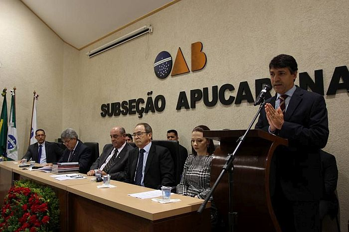 Presidente da CAA-PR participa de eventos em Apucarana
