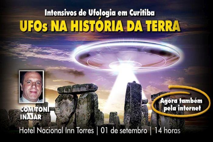 Ufólogo paranaense faz palestra sobre presença de extraterrestres ao longo da história da humanidade