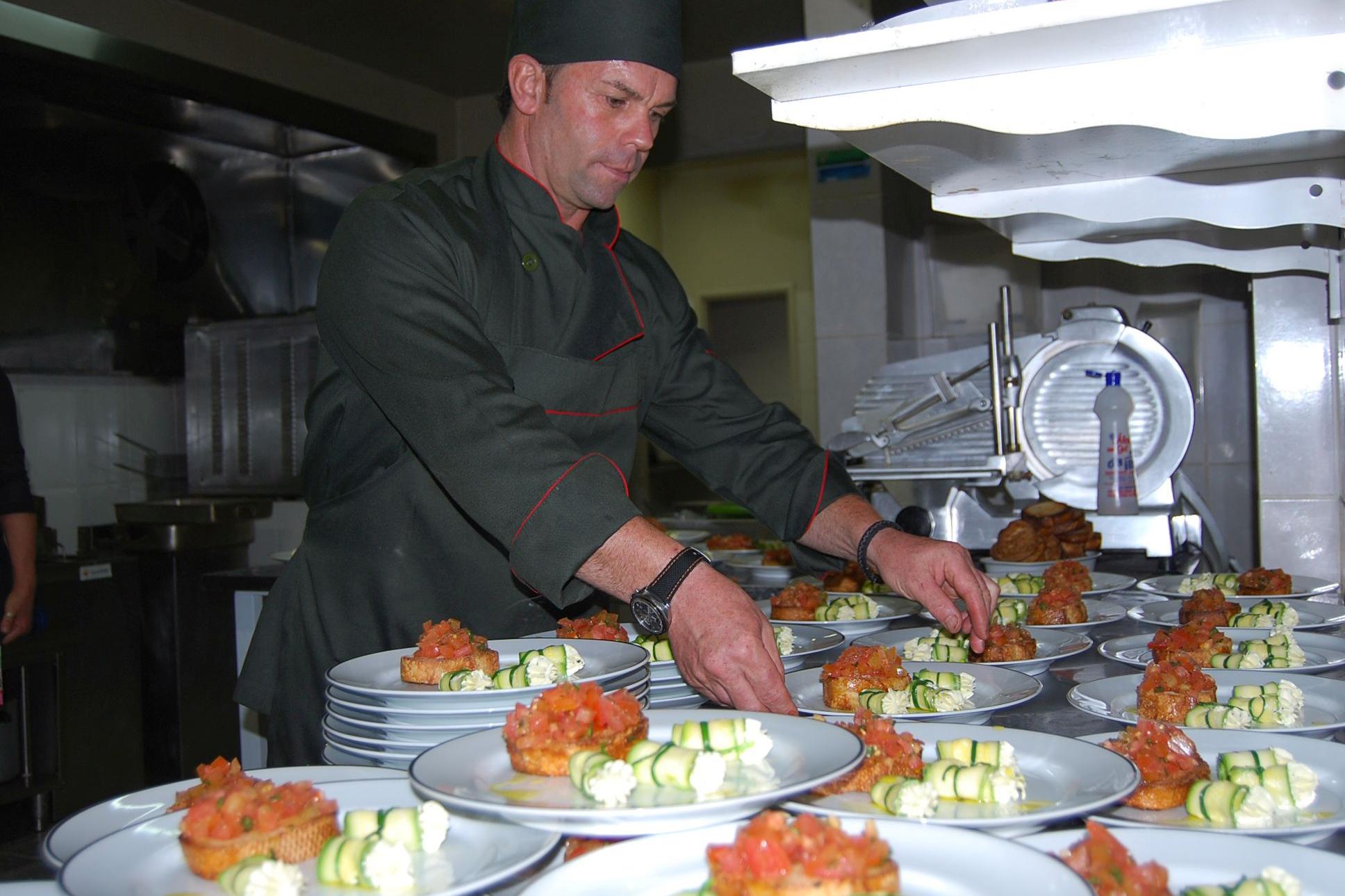 Jantar à italiana faz sucesso entre convidados
