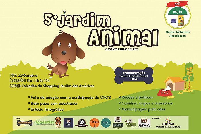 Jardim Animal para apaixonados por pets no Shopping Jardim das Américas
