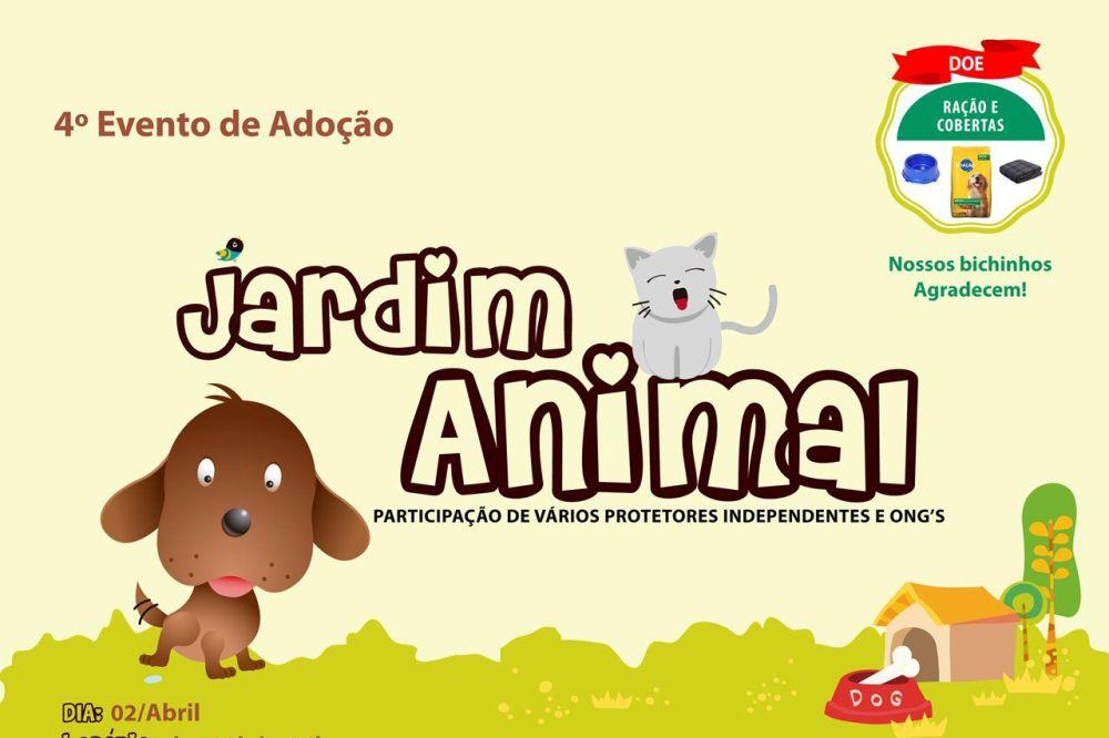 Jardim Animal reunirá cachorros para adoção