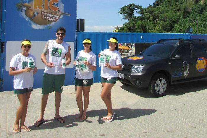 Jovem Pan Curitiba faz blitz nas praias do litoral para a preservação ambiental