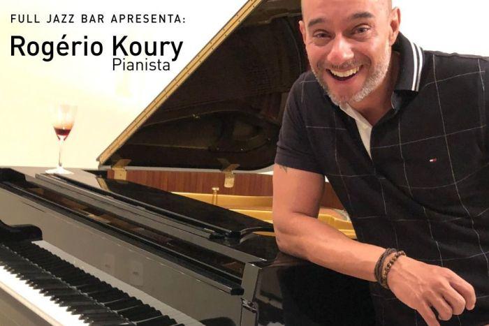 Pianista Rogério Koury se apresenta até sexta-feira no Full Jazz Bar