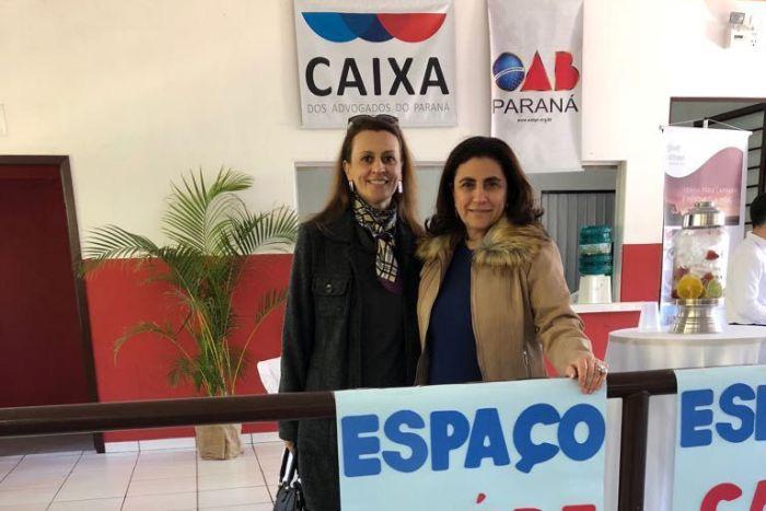 Diretoras da CAA/PR participam de confraternização da OAB Lapa