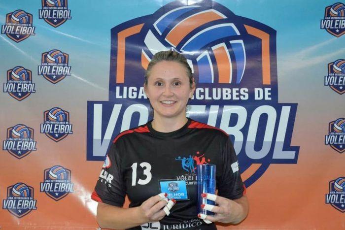 Atleta do Vôlei Legal desponta em seleção da rodada na Liga Interclubes de Curitiba