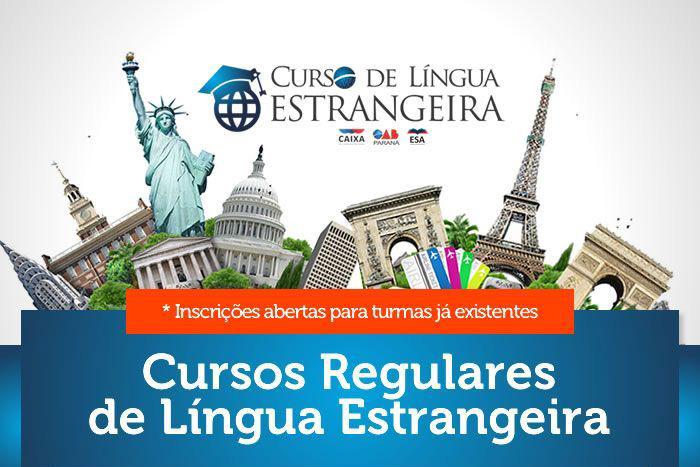 Abertas inscrições para cursos de língua estrangeira no Edifício Maringá