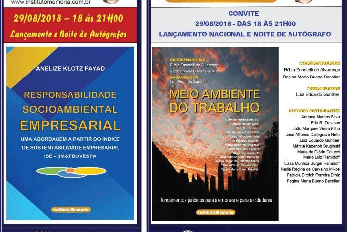 Círculo de Estudos Bandeirantes recebe lançamento de livros de advogadas de Curitiba