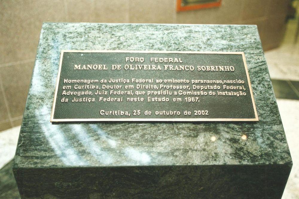 Homenagem é lembrada no centenário de nascimento do primeiro juiz federal do Paraná