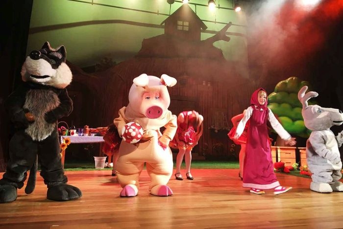 Espetáculo Masha e o Urso volta a Curitiba