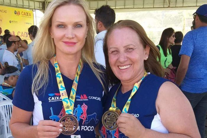 Advogadas paranaenses conquistam medalhas nos Jogos de Verão em Maceió