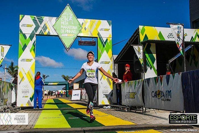 Integrante do projeto Corrida Legal alcança pódio na Meia Maratona de Pinhais