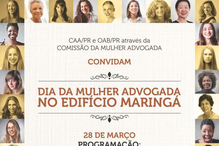 Advogadas terão programação especial pelo Mês da Mulher no Edifício Maringá