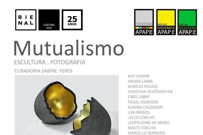 APAP/PR abre exposição Mutualismo com trabalhos de escultores e fotógrafos paranaenses