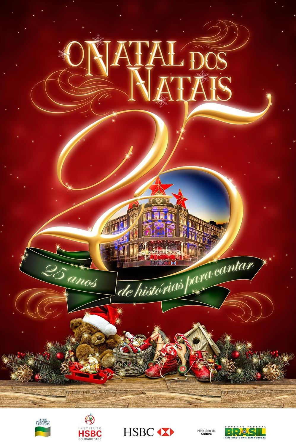"""HSBC apresenta  """"O Natal dos Natais"""""""