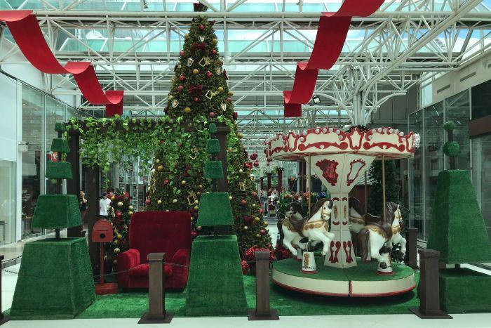Shopping Novo Batel está em clima de Natal