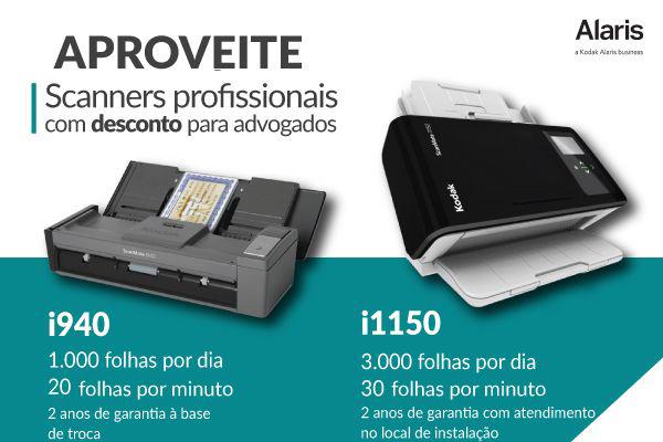 Netscan oferece promoção de scanners com frete gratuito para advogados