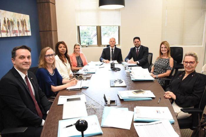 Novos diretores conhecem estrutura e funcionamento da CAA/PR