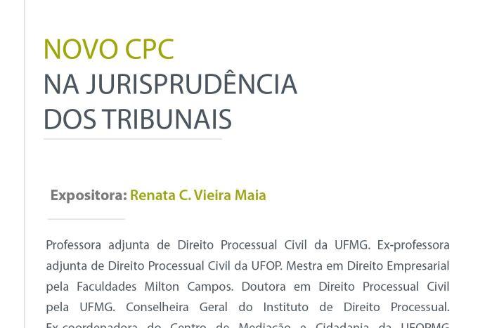 Escola da PGE promove palestra sobre o novo CPC com jurista de Minas Gerais