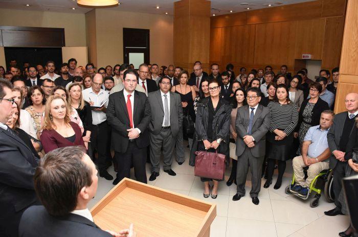 Diretoria da APEP prestigia posse no novo procurador-geral do Paraná