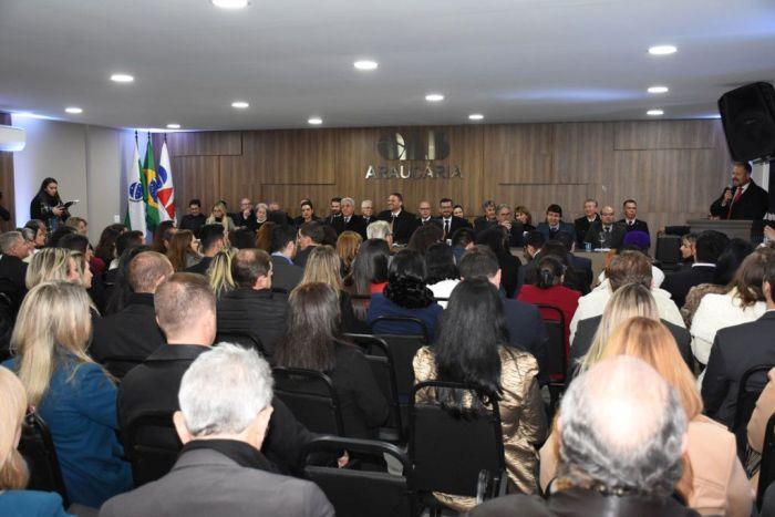 Diretoria da CAA/PR prestigia inauguração da nova sede da OAB Araucária