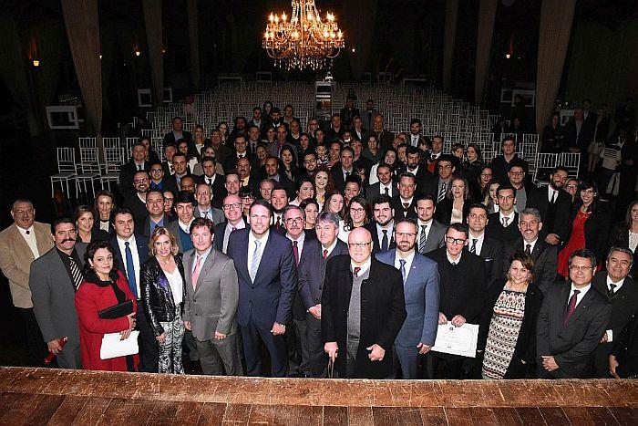 CAA-PR prestigiou posse da primeira diretoria da OAB Colombo