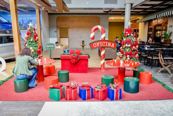 Oficinas de Natal nos finais de semana