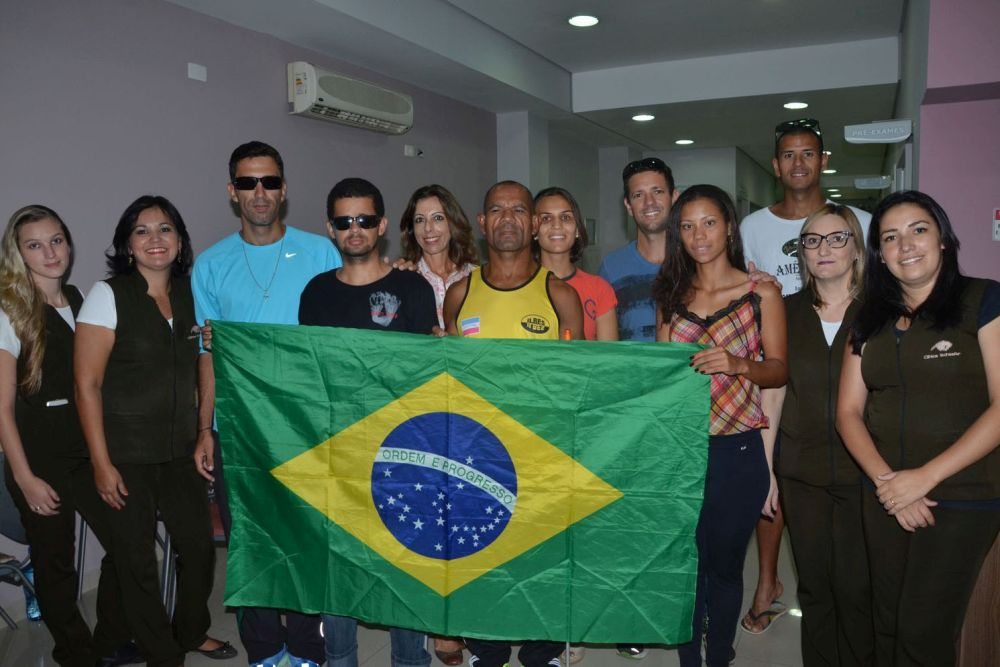 Atletas paraolímpicos do Circuito Rio Sul fazem exames na Clínica Schaefer