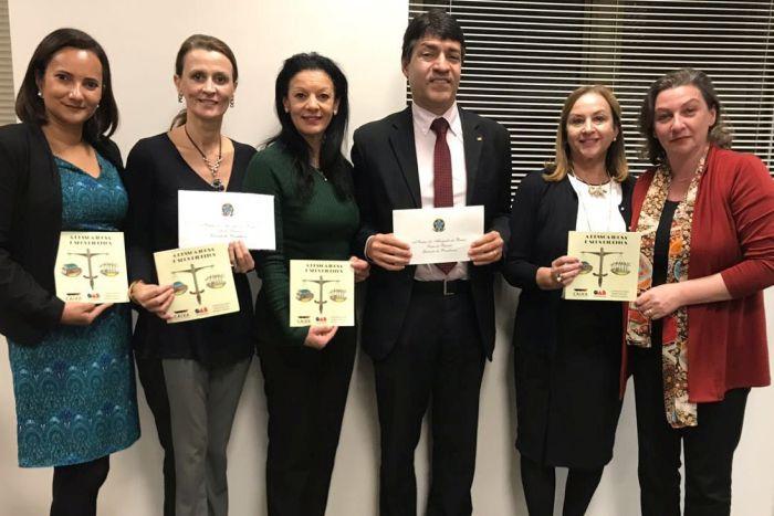 Diretoria da CAA/PR recebe convite para Conferência Nacional da Pessoa Idosa