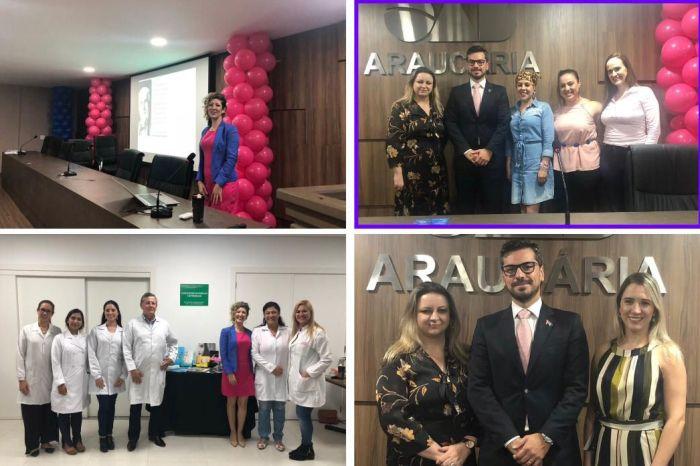 OAB Araucária e CAA/PR encerram atividades das campanhas de prevenção ao câncer