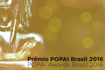 Abertas inscrições para o Prêmio POPAI Brasil 2016