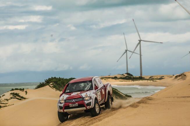 Paranaenses chegam em segundo na primeira etapa do 20º Rally RN 1500