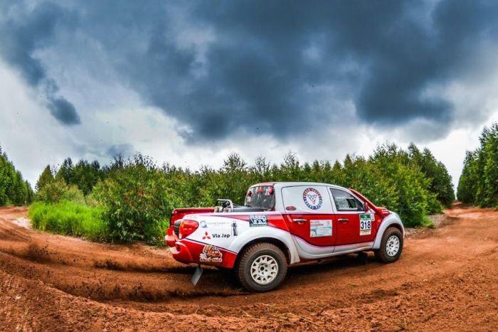 Rally Rota Sudoeste: Navegadora do Paraná é vice-campeã brasileira por antecipação