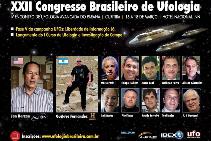 Revelações ufológicas e portal para outra dimensão se destacam em congresso de Ufologia