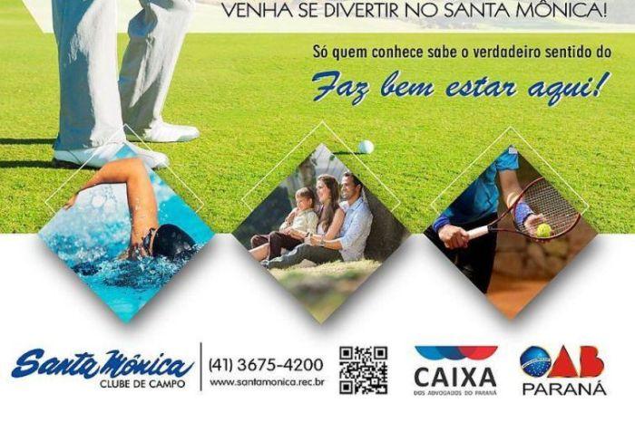 Clube Santa Mônica de Curitiba é o novo conveniado da CAA/PR
