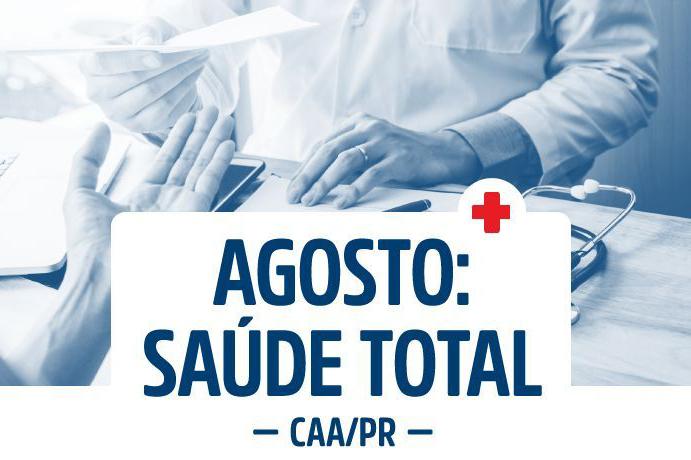 Últimos dias para advogados agendarem consultas e exames do projeto da CAA/PR Agosto: Saúde Total